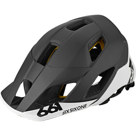 SixSixOne EVO AM Patrol MIPS Fietshelm, black/white